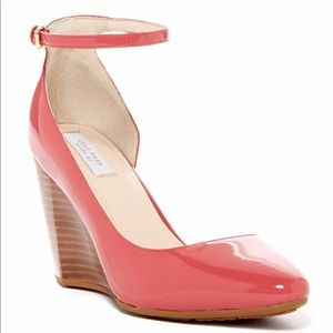 Cole Haan Lacey Wedge Leather Heel in Mineral